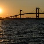 Claiborne Pell Bridge Sunset